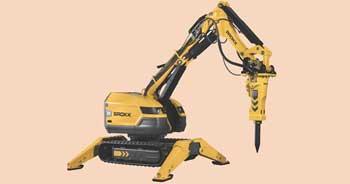 Brokk launches  demolition robot