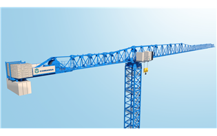 COMANSA announces new large flat-top tower crane at bauma