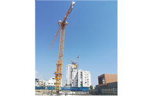 Potain tower cranes support Trilogy Limassol Seafront project