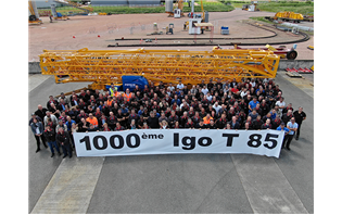 Manitowoc sells 1,000th Igo T 85