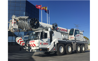 Spanish rental co buys four GMK4100L-1 all-terrain cranes