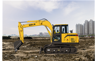 SDLG launches two mini excavators in Indonesia