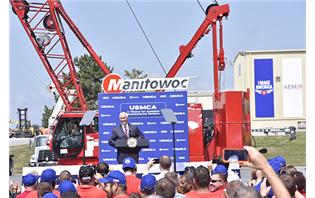 US Vice President visits Manitowoc facility