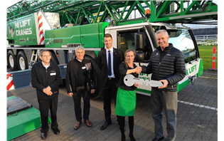 First-ever Liebherr mobile construction crane in New Zealand