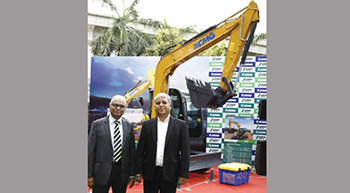 Schwing Stetter India launches XCMG excavators