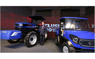 Escorts showcases India's first Hybrid Concept Tractor