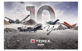 Terex celebrates a decade of success in India