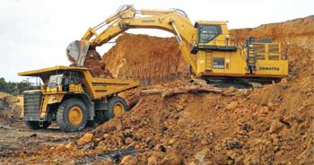 Mining Needs a Leg-up
