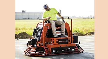 Allen introduces all-new MSP475 riding trowel