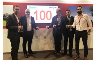 Manitowoc celebrates 100 Potain crane orders by Valente