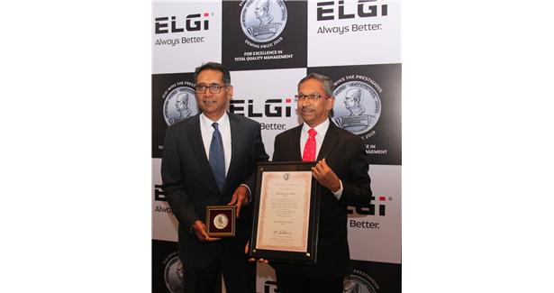 Elgi Equipments wins Deming Prize in Japan