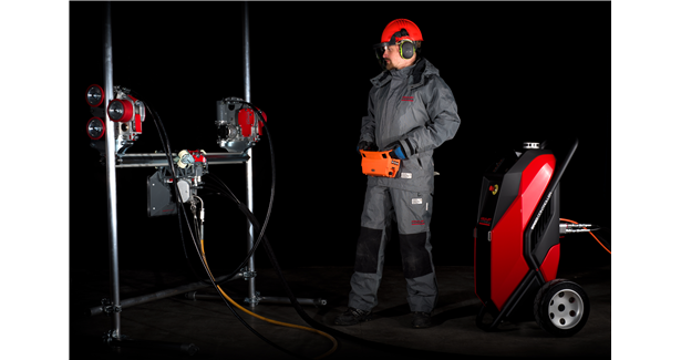 Aquajet's Ergo System redefines industrial cleaning applications