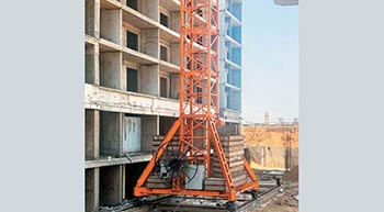 Riding prefab wave in India