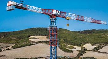 COMANSA presents new large-capacity flat-top crane