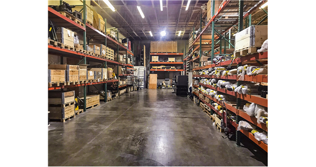 Brokk upgrades parts warehouse
