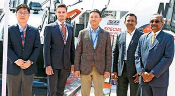 Doosan Bobcat launches B900 backhoe loader