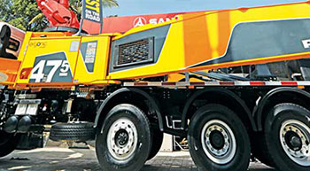 Putzmeister and Sany showcase concrete solutions at Excon