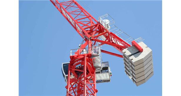WOLFFKRAN to present smaller luffing jib crane at Conexpo 2020