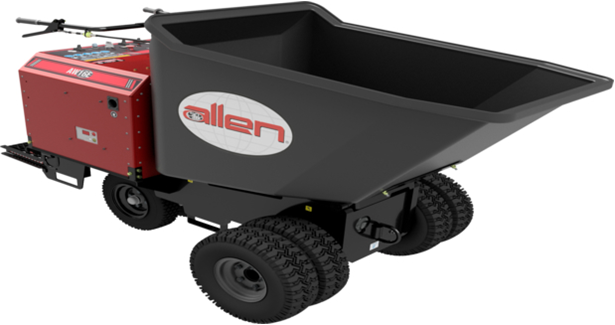 Allen introduces all-new fully electric wheel buggy