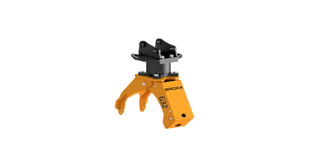 Brokk adds G32 grapple for soft demolition
