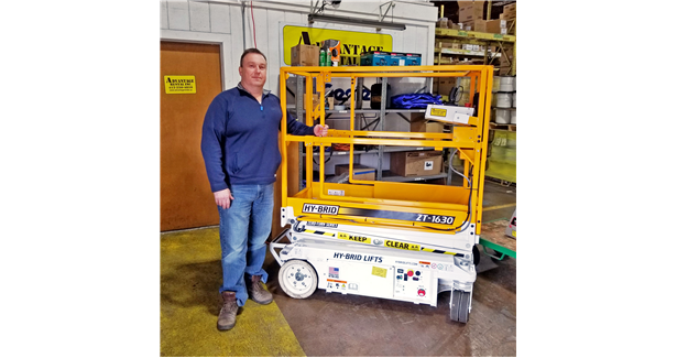 Hy-Brid Lifts delivers first ZT-1630 order