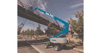 Genie offers new S-60 J telescopic boom lifts
