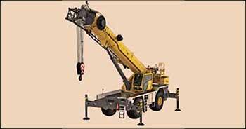 Manitowoc unveils Grove GRT8120 rough-terrain crane