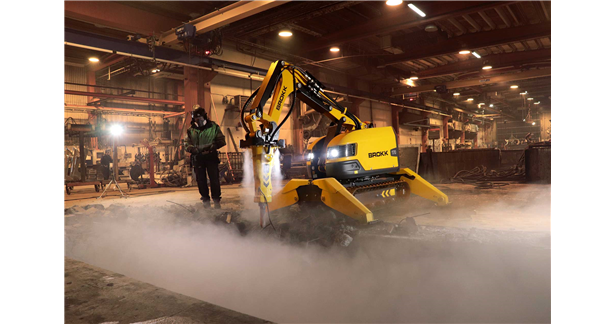 Brokk launches atomised water mist dust suppression system