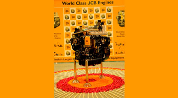 JCB India rolls out 100,000th ecoMAX engine