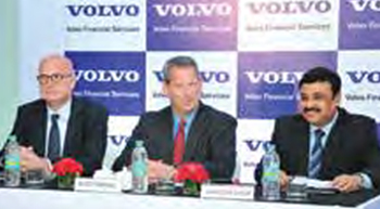 Volvo Financial Services launched in India