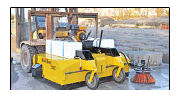 Multi Sweep Industrial Yard Sweeper