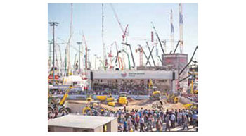 Service for companies unable to participate in bauma