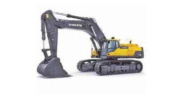 Volvo CE showcases EC750D excavator