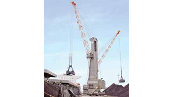 10 Terex Gottwald harbour cranes for Indian ports