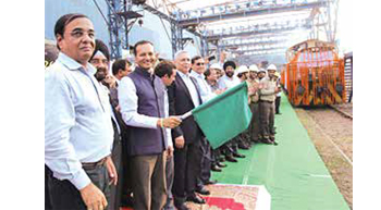 JSPL dispatches India´s longest ever rails to DFCCIL