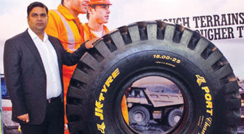 New OTR Tyre for Port and Terminals