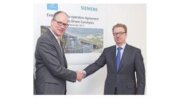 thyssenkrupp and Siemens extend coop agreement