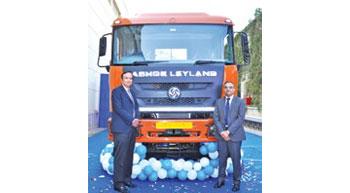 Ashok Leyland launches Captain 40iT Trucks