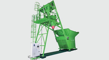 Innovative Concrete Mixing Plant