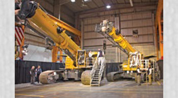 New GHC Telescopic Crawler Cranes