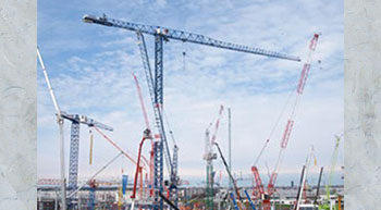 Linden Comansa showcases tallest tower crane