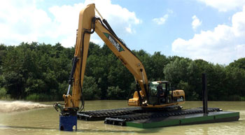 Waterking to showcase amphibious excavators at Bauma Conexpo India