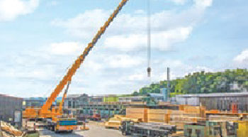 New Liebherr LTM 1160-5.2 mobile cranes for Bracht