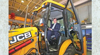 British High Commissioner visits JCB factory in Delhi