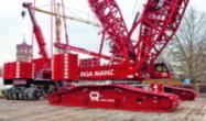 Tunnel drill work for Liebherr Crane