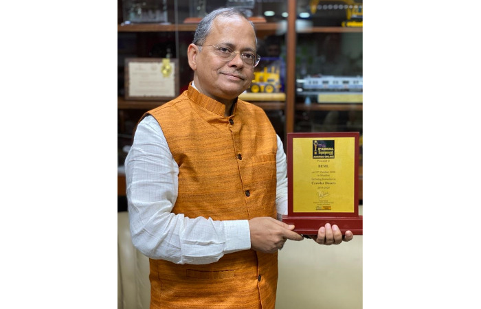 BEML's stride towards 'Atmanirbhar Bharat' wins Equipment India Awards