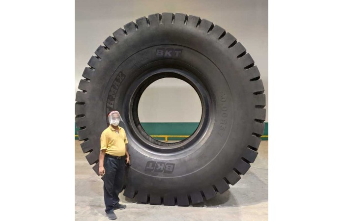 OTR tyres on the move