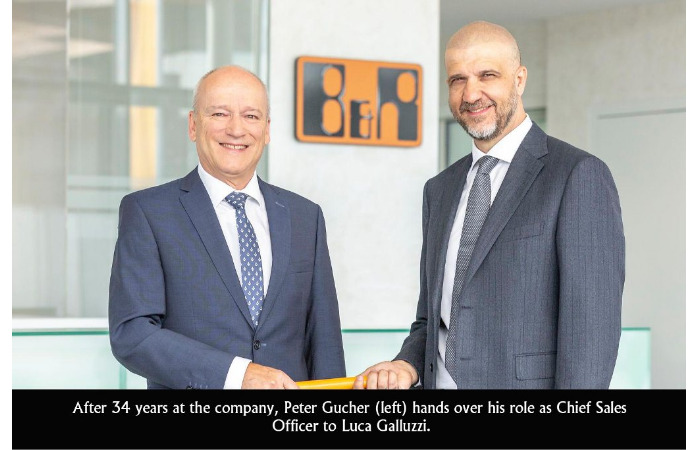 Luca Galluzzi to succeed Peter Gucher as CSO at B&R