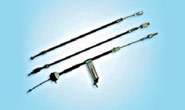 Control cables for earthmoving equipment