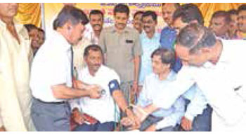 Gangavaram Port conducts mega medical camp